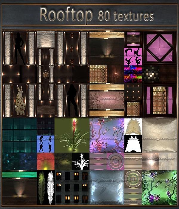 Rooftop 80 Textures
