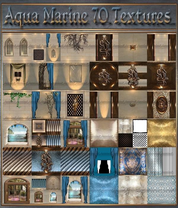 Aqua Marine 70 Textures