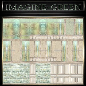 A~IMAGINE GREEN-48 TEXTURES