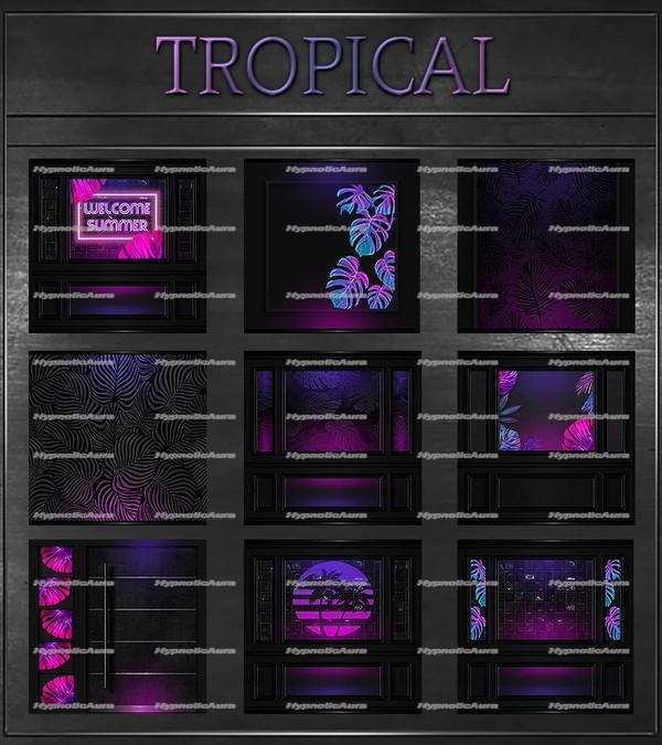 A~TROPICAL-80 TEXTURES