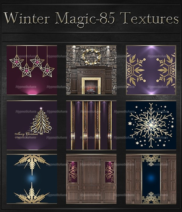 A~WINTER MAGIC-85 Textures