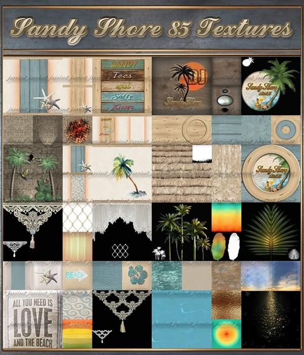 Sandy Shore 85 Textures