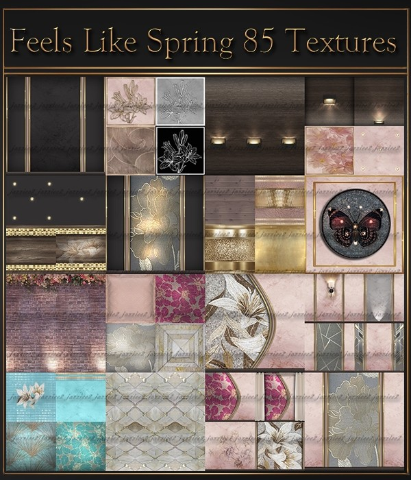 Feels Like Spring  85 textures