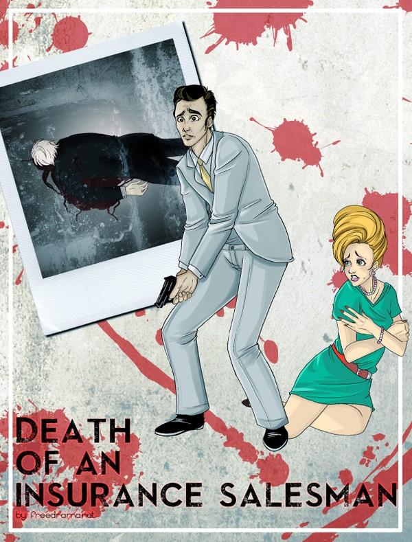 Death of an Insurance Salesman by D. M. Larson