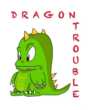 Dragon Trouble Word document copy with performance rights