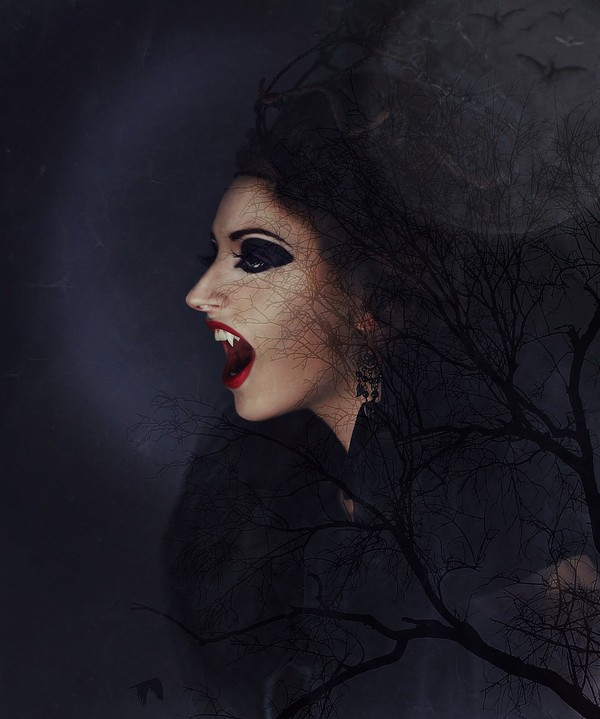 Draculala short script for 2 actresses
