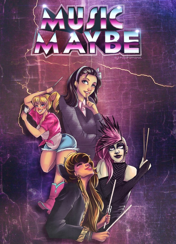 Music Maybe comedy stage play script