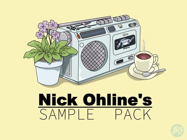 Nick Ohline's Lofi Hip Hop Sample Pack