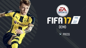 FIFA 17 MENU INTRO LEAKED TEMPLATE