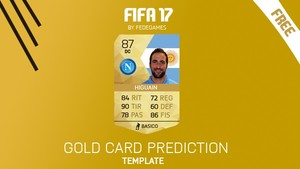 FIFA 17 FREE TEMPLATE CARD CONCEPT