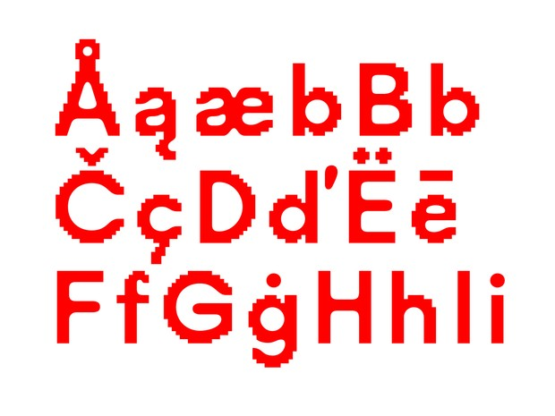 Visual Font
