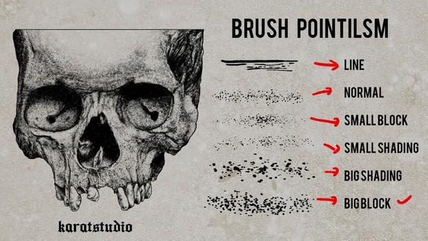 Brush Pointilsm for photoshop