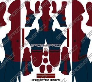 Civil War Spider Man Trailer Suit w/ No Muscle