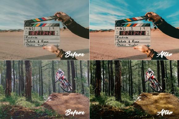 CINEMATIC FILM LUTS 1 0 by H GANON - Hanan Ganon