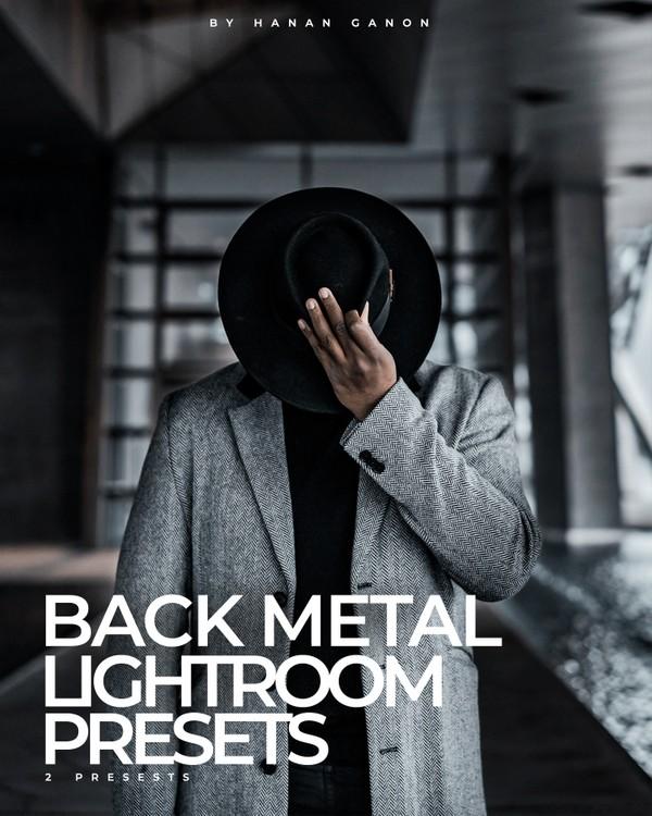 Back Metal - FREE Lightroom Presets