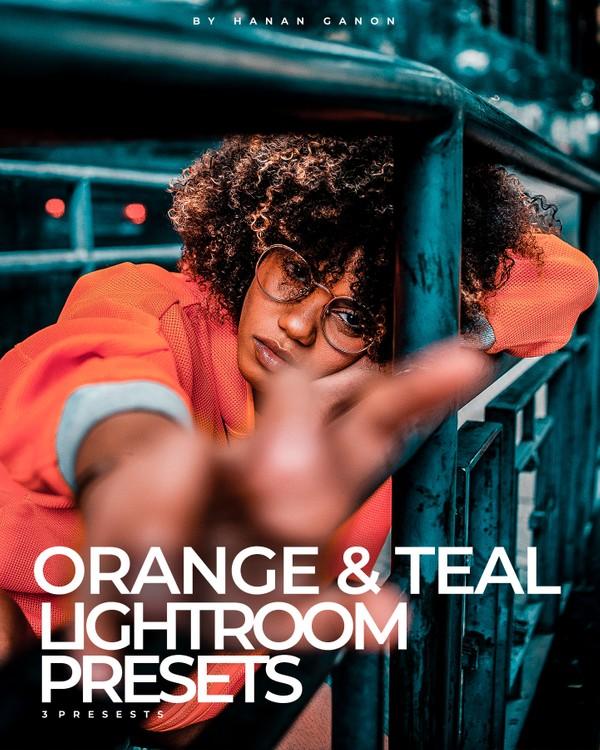 Orange & Teal Lightroom & Ps Presets