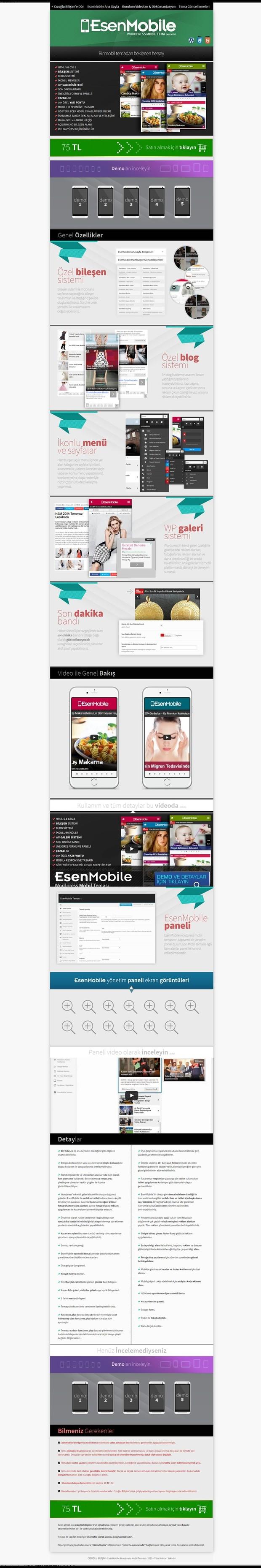 EsenMobile Mobile Wordpress Tema Full SEO Keygen Dosyası