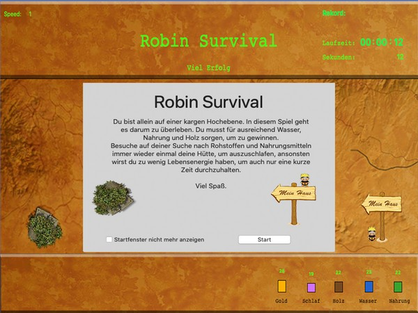 Robin Survival Retro