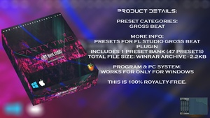 INIT WAVE STUDIO - PARTY TIME EXPANSION (GROSS BEAT BANK FOR FL STUDIO 12)