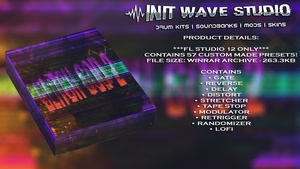 INIT WAVE STUDIO - GLITCH GOD 2 (57 PRESETS, FL STUDIO 12 ONLY)