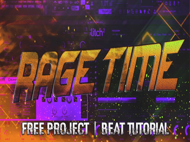 FREE PROJECT - RAGE TIME   FOR FL STUDIO 12