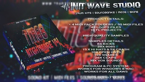INIT WAVE STUDIO - TM88 NIGHTMARE V4 (WAVS, MIDI, MIXING PRESETS, FLPS, EXPANSIONS)
