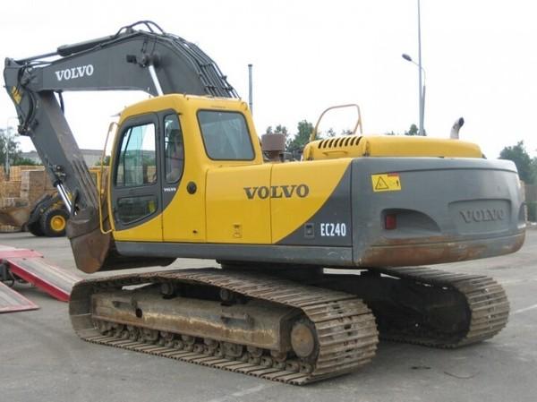 VOLVO EC240 EXCAVATOR SERVICE REPAIR MANUAL - DOWNLOAD