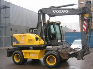 VOLVO EW140 WHEELED EXCAVATOR SERVICE REPAIR MANUAL - DOWNLOAD
