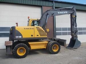 VOLVO EW140B WHEELED EXCAVATOR SERVICE REPAIR MANUAL - DOWNLOAD