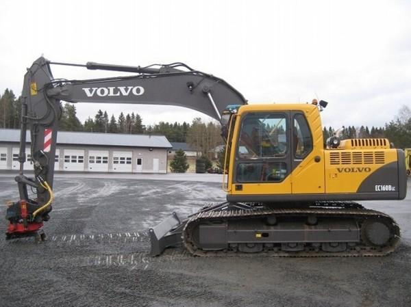 VOLVO EC160B LC EC160BLC EXCAVATOR SERVICE REPAIR MANUAL - DOWNLOAD
