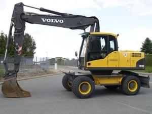VOLVO EW180 WHEELED EXCAVATOR SERVICE REPAIR MANUAL - DOWNLOAD