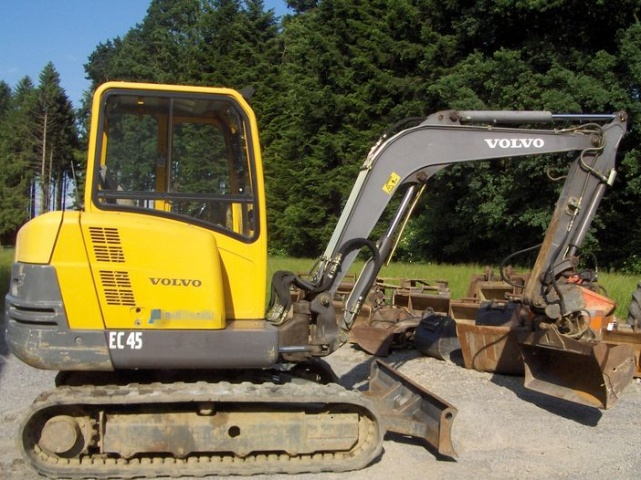 Volvo Ew210d Wheeled Excavator Service Repair Manual -