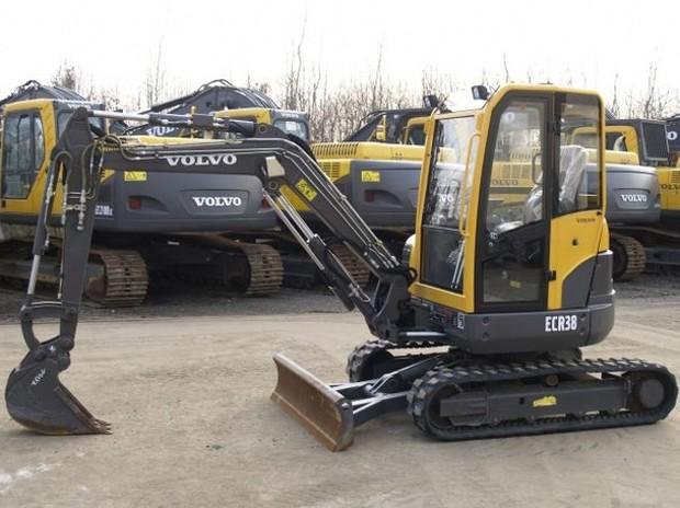 VOLVO ECR38 COMPACT EXCAVATOR SERVICE REPAIR MANUAL - DOWNLOAD