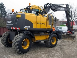 VOLVO EW140C WHEELED EXCAVATOR SERVICE REPAIR MANUAL - DOWNLOAD