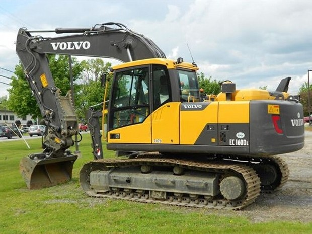 VOLVO EC160D L EC160DL EXCAVATOR SERVICE REPAIR MANUAL - DOWNLOAD