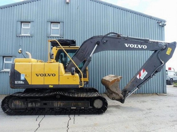VOLVO EC135B LC EC135BLC EXCAVATOR SERVICE REPAIR MANUAL - DOWNLOAD