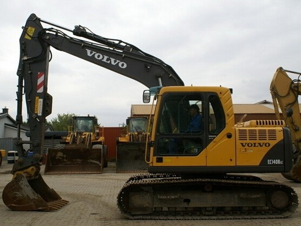 VOLVO EC140B LC EC140BLC EXCAVATOR SERVICE REPAIR MANUAL - DOWNLOAD