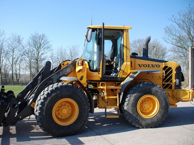 volvo l60f wheel loader service repair manual downlo rh sellfy com Used Articulated Compact Wheel Loaders Construction Loader