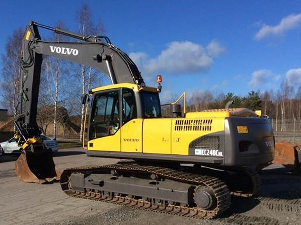 VOLVO EC240C NL EC240CNL EXCAVATOR SERVICE REPAIR MANUAL - DOWNLOAD