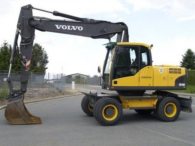 VOLVO EW180C WHEELED EXCAVATOR SERVICE REPAIR MANUAL - DOWNLOAD