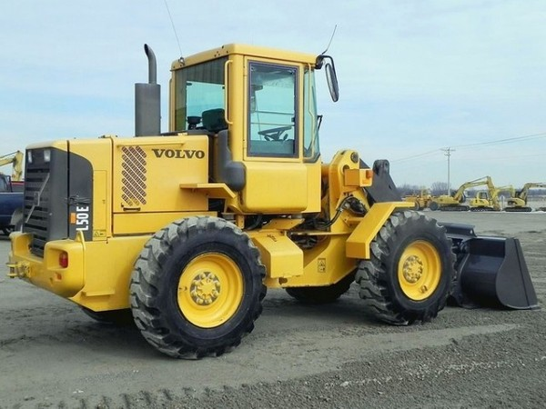 VOLVO L50E WHEEL LOADER SERVICE REPAIR MANUAL - DOWNLOAD