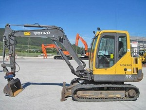 VOLVO EC55 COMPACT EXCAVATOR SERVICE REPAIR MANUAL - DOWNLOAD