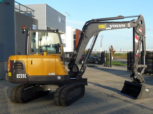 VOLVO EC55C COMPACT EXCAVATOR SERVICE REPAIR MANUAL - DOWNLOAD