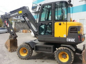 VOLVO EW60C COMPACT WHEEL EXCAVATOR SERVICE REPAIR MANUAL - DOWNLOAD
