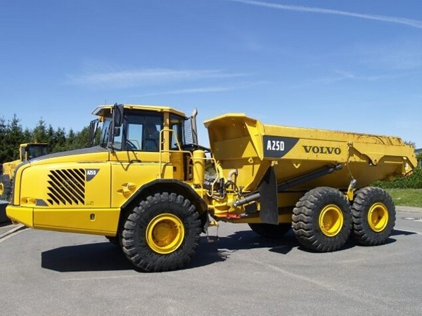 VOLVO A25D ARTICULATED DUMP TRUCK SERVICE REPAIR MANUAL - DOWNLOAD