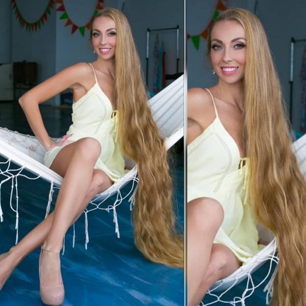 Modelo: ALENA. Numero 2. Rapunzel Real.