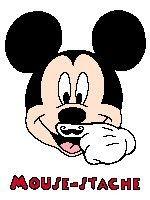 Mouse-stache