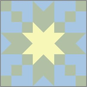 Star Water Lily Quilt