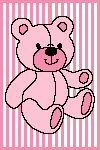 Teddy Bear Stripes