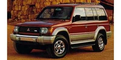 Mitsubishi Montero 1996 to 1999 Factory Service Workshop Repair manual